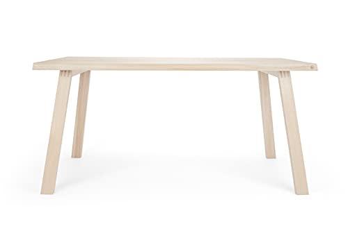 Anton Doll Holzmanufaktur ®, Tavolo Fritz, prodotto naturale 100%, tavolo fatto a mano in rovere...