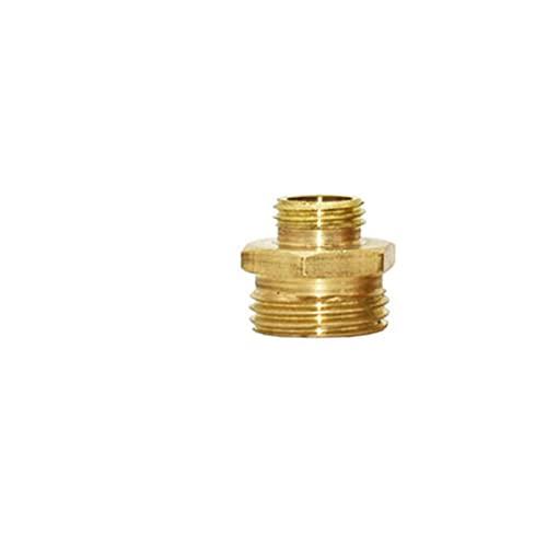 Kit de jardín Brass 1 '3/4' a 1/2 'a 1/4' Conector de hilo masculino Conector Reparación de codos Conectores de cobre Reducción Conector Reparación de manguera 1pcs Kit de reparación de tubos