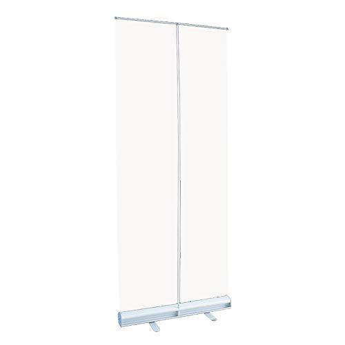 Protector de Estornudo de PVC Transparente, Pancarta Enrollable Transparente Portátil, para Escuelas, Oficinas, Supermercados, Restaurantes
