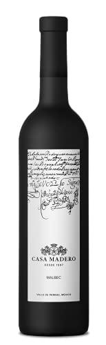 Casa Madero Malbec, Vino Tinto Mexicano, Elaborado con Uvas 100%...