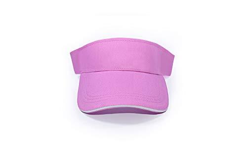 MB CAPSDamen Sonnenhut Mehrfarbig Pink / White