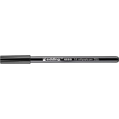 edding Kalligrafie-Stift edding 1255 calligraphy pen, 5,0 mm, schwarz