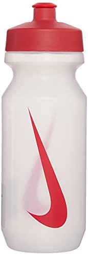Nike Big Mouth Bottle 2.0 650 ml trasparente / rosso sport