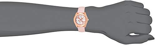 Guess Reloj Analógico para Mujer de Cuarzo con Correa en Cuero W0895L6