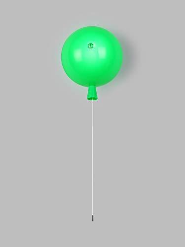 Lámpara de pared de globo colorido Lámpara de dibujos animados Lámpara de dibujos animados Kindergarten Sala de bar decorativa Lámpara de pared Festival Aplique luces de pared