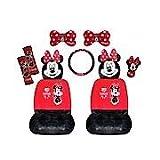 Minnie Mouse Lot de 10 accessoires de voiture Minnie Mouse