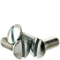 #8-32x3 Max 40% OFF 8 Inch F T Machine Screw It is very popular Head Slotted Coarse C Zinc Oval