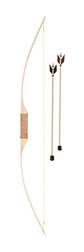 Fantashion W 119 - Wooden longbow with two arrows