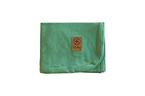 Cloby UV-Sonnenschutz für Ihr Baby - Schutz-Decken und Magnete, multifunktional, UPF 50+ (Tuch Ocean-Grün)