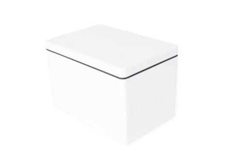 ajaa! Aufbewahrungsbox aus nachhaltigem Biokunststoff - 2,1 Liter - cool gray