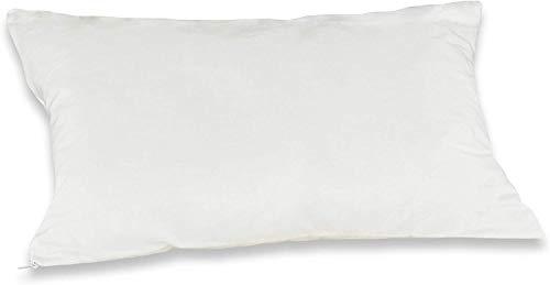Badenia Bettcomfort Irisette Bambino Kinder-Kopfkissen, Baumwolle, 40 x 60 cm, weiß