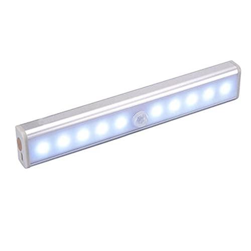 surfsexy sotto le luci dell'armadio,Luci a led wireless,Luce notturna del rivelatore di movimento principale,Lampada ricaricabile USB autoadesiva 19cm