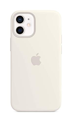 Apple SilikonHülle mit MagSafe (für iPhone 12 Mini) - Weiß