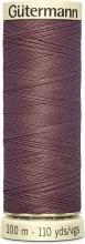 Gutermann Naai alle polyester draad, 100mtr, gesmolten chocolade (0428), 5.5 x 1.8 x 1.8 cm