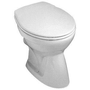 SAVAL Stand-WC tief, Abgang waagrecht, DIN 1385-6 pergamon
