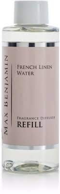 Max Benjamin French Linen Water Diffuser Refill 300ml