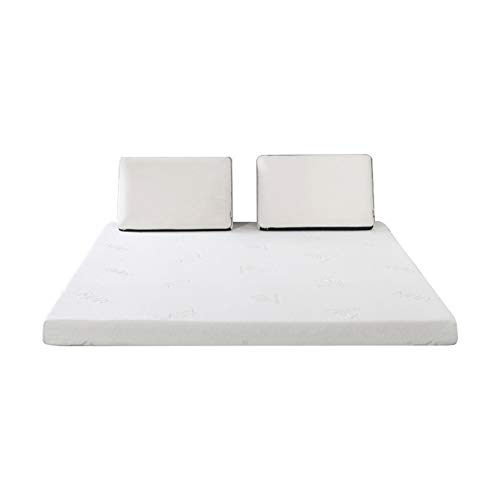 Best Prices! WENZH Mlily Memory Foam Mattress Toppper for Bed King Queen Full Twin Size 5cm 2inch Ma...