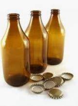 Vetro Bottiglia Birra LT.0,66 Marr.T/Cor Confezione da PZ.20