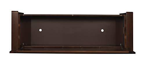 "Product Image 11: Linon Home Dcor Linon Home Decor Cynthia Storage Bench, 50""w x 17.25″d x 32″h, Walnut"