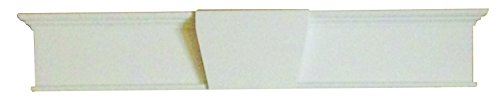 Minute Molding 83061 Classic Universal Header for Interior Doors, 28-36 inch, Single, White