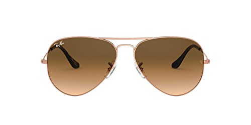 Ray-Ban Aviator Gafas, BRONCE-COBRE, 62 mm Unisex Adulto