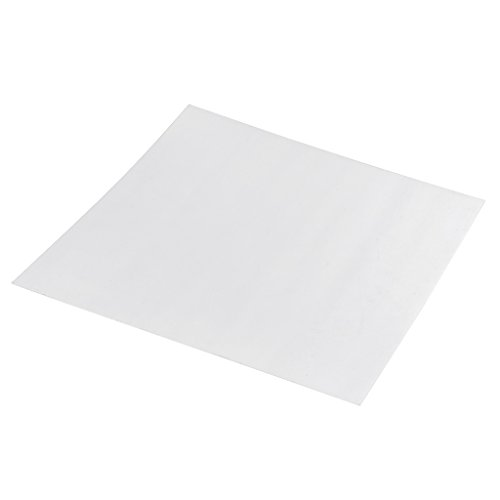 PEI Sheet PEI Polyetherimide Ultem Sheet for 3D Printer Bed 0.02'' Thickness 300x300x0.5mm