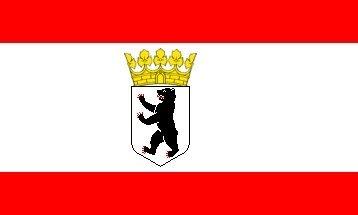 Deutsche Deutschland Berlin 5'x3' Flagge