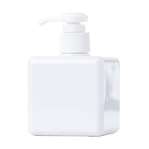 strimusimak Botella de prensa portátil para el cuerpo, champú crema de prensa de la bomba vacía botella dispensador reutilizable