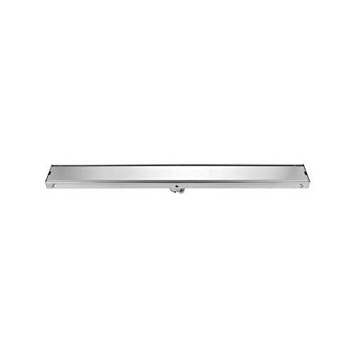 Linear Douche Anti-geur afvoerputje Onzichtbare rechthoek Stainless Steel Bathroom Floor Drainer met Haar Zeef for Kitchen Washroom Garage Kelder (Size : 120cm)