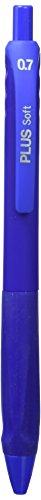 Plus Office 081108 - Pack de 3 bolígrafos, color azul
