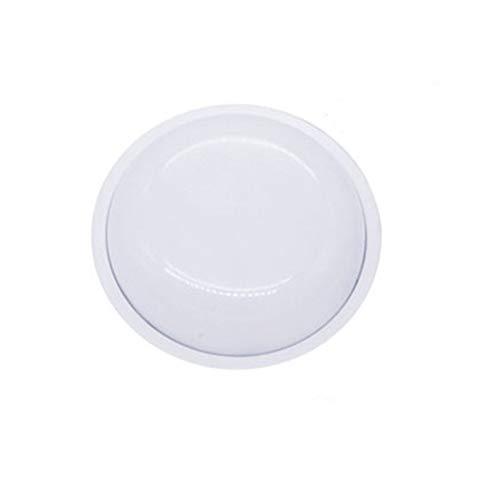 RongWang Lámpara De Techo LED A Prueba De Humedad IP65 Impermeable Baño Lámpara De Jardín Al Aire Libre Lámpara De Patio 16W 20W Lámpara De Pared Cuadrada Ovalada Redonda Blanco Redondo