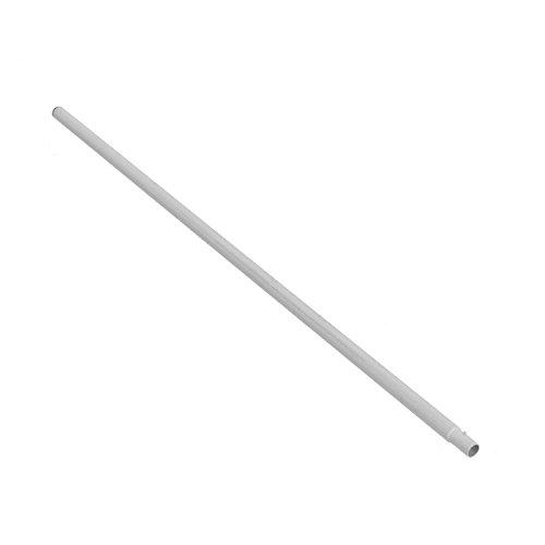 Ampel 24 Trampolin Netzstange unten, Pfosten Länge ca. 126 cm, Ø Stange ca. 2,8 cm, Netzpfosten Silber, Ersatzteil für Gartentrampolin Ø 305 cm