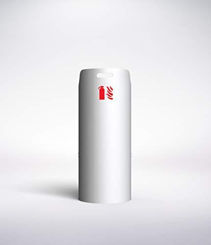 Cassetta porta estintore design Cintro, 6 L ad acqua, 6kg a polvere, CO2 2kg, a schiuma
