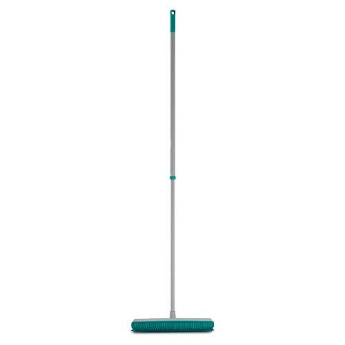 Vassoura emborrachada Multiuso 2em1, Varre pelos até mesmo de carpetes e tapetes, FLP6132 FLASH LIMP,