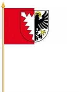 Stockfahne Grömitz Fahne Flagge Grösse 30x40cm - FRIP –Versand®