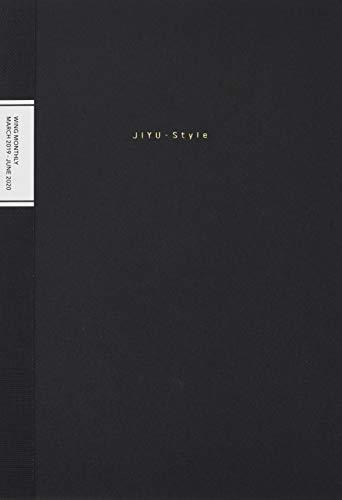 Y-Line B6ウィングマンスリー・ブラック Y1BK (2019年版4月始まり手帳) (JIYU-Style)