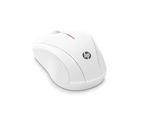 HP X3000 Mouse Wireless, Bianco