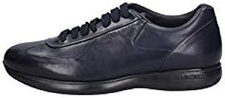 BRIAN CRESS BY CAMPANILE Scarpe Sneakers Uomo X1 Pelle Blue Originale AI
