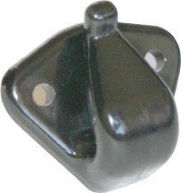 XYZ Boat Supplies Jiffy Reefing Hook/Lacing Hook - 4 Pack (Black)