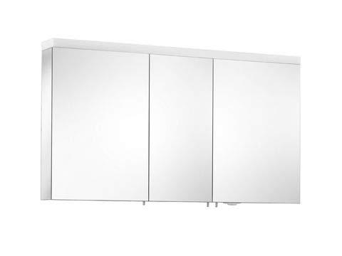 KEUCO Keuco Spiegelschrank ROYAL REFLEX.2 1300x700x150mm silber-gebeizt-eloxiert