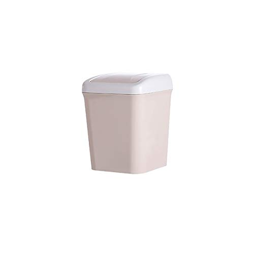 WUJIANCHAO High Quality Mini Trash Can Home Office Bathroom Trash Can Desktop Garbage Box Table Dustbin Sundries Barrel Bins Storage Box Waste Bins