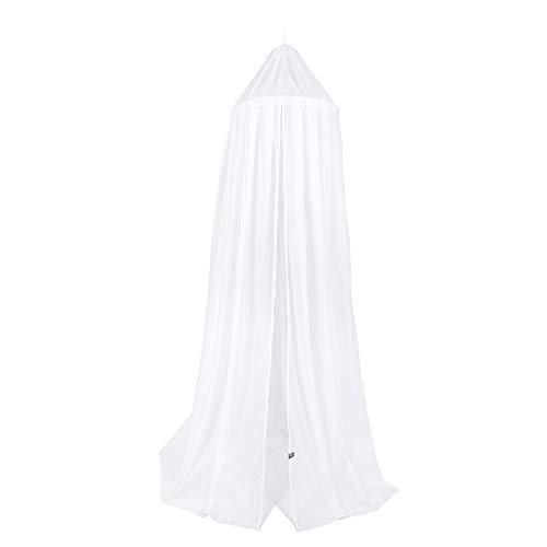 BO Baby's Only - Ciel de lit - Blanc - 5% coton/5% acrylique/90% polyester