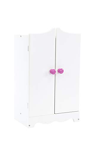 Playtime by Eimmie Wardrobe Set - Closet Set with Doll Accessories - Furniture for 18 Inch Dolls