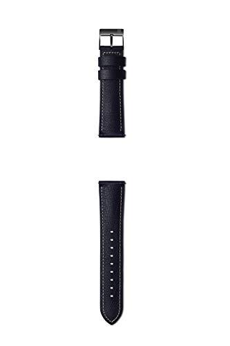 Samsung Urban Traveller - Correa de Piel de 22 mm, Color Negro