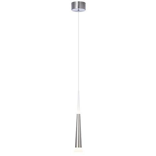 AEG Pendelleuchte, 1-flammig, Aluminium, 9 W, eisen