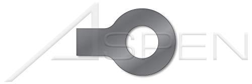 (100 pcs) M16, DIN 93, Metric, Tab Washers, 1 Tab, Steel, Plain