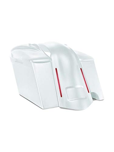 Why Should You Buy Harley Davidson 4 extended stretched saddlebags and LED fender kit right side cu...