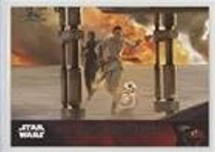 Storyline - Rey and Finn's escape (Trading Card) 2016 Topps Star Wars: Complete - The Force Awakens Series 1 #90