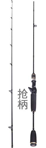 Fishing Rod Travel Ultra Light UL Action Spinning Rod 1.8m 1.98m 2 sectie