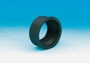 HAAS Gummi-Manschette für Gussrohr-Winkel   für Anschluss 1 1/2 Zoll   Gummi schwarz   1 Stück